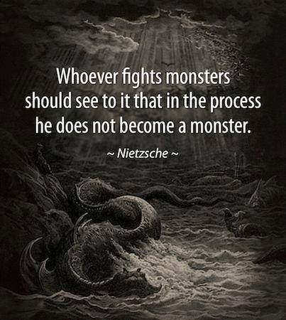 become a monster
