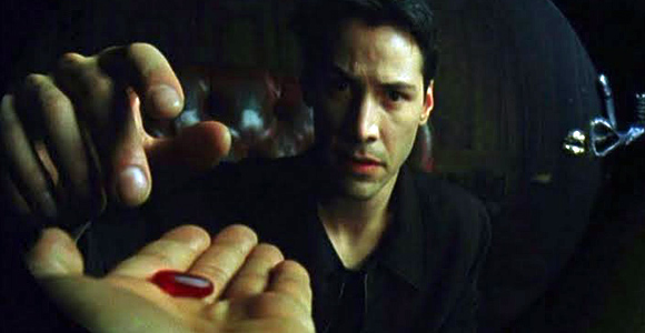 what does the red pill do