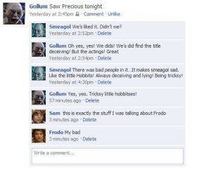 lord of the rings hilarity