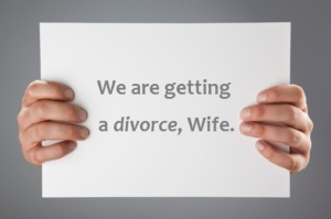 sign of divorce